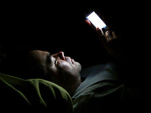 防刷手机睡眠提醒器