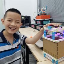micro:bit全球青少年创意征集2021创客大赛:灯光气流捕蚊器