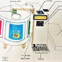 micro:bit全球青少年创意征集2021创客大赛:智能分类垃圾桶